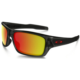 Oakley Turbine XS Grey Smoke/Ruby Iridium